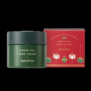 Innisfree [2018 Green Christmas] Green Tea Seed Cream 100ml