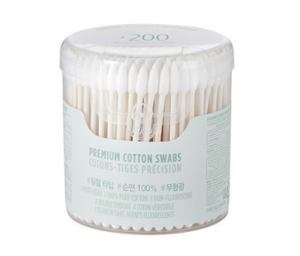 The Face Shop Daily Beauty Tools Premium Cotton Swabs 200p
