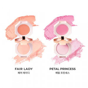 DearDahlia Blooming Edition Paradise Dual Palette Blusher Duo 4g