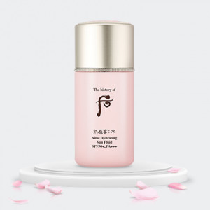 The History of Whoo Gongjinhyang:Soo Vital Hydrating Sun Fluid SPF50+PA+++ 60ml