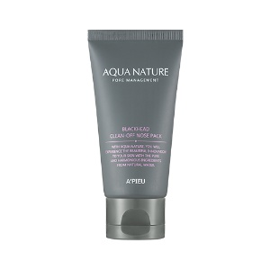 APIEU Aqua Nature Blackhead Clean-off Nose Pack 50ml