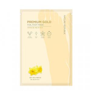 Nature Republic Premium Gold Foil Foot Mask 12ml