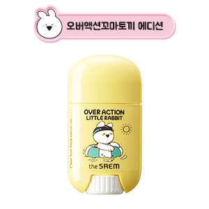 The Saem [Over Action Little Rabbit Edition] Eco Earth Power Clear Sun Stick SPF50+PA++++ 13g