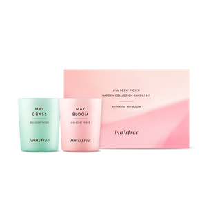 Innisfree Jeju Scent Picker Garden Collection Candle Set 60g*2ea