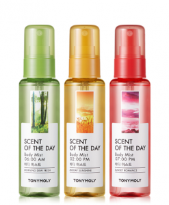 TONYMOlY Scent Of The Day Body Mist 85ml