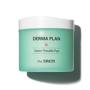The Saem DERMA PLAN Green Trouble Pad 130ml