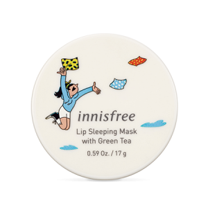 Innisfree 2019 Eco Hankie X Lip Sleeping Mask With Green Tea 17g