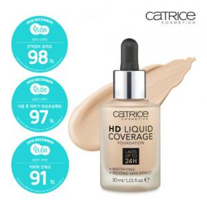 CATRICE HD Liquid Coverage Foundation 30ml
