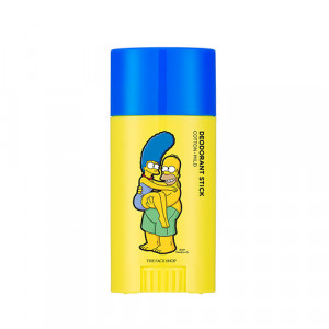 The Face Shop Etiquette Fresh Deodorant Stick Stick Mild _Simpsons Edition 40g