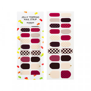 Skinfood Jelly Topping Nail Strip 1ea