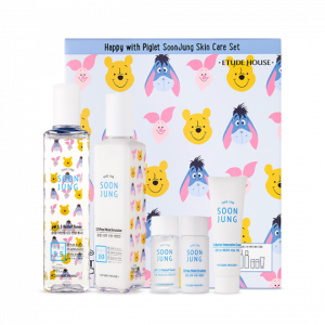Etude House Happy With Piglet Soon Jung Skin Care Set 1ea