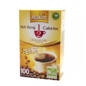 [Coffee Mix] Dongseo Maxim Well-Being 1/2 Calories Mix 8.5g x 100T