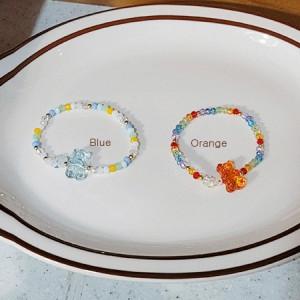 [R] Rowky jelly bear candy beads bracelet 1pcs
