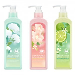 Nature Republic Love Me Bubble Bath & Shower Gel 400ml