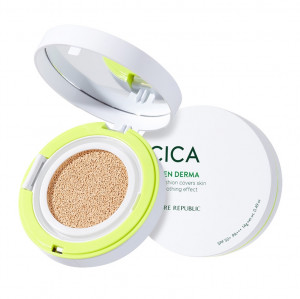 Nature Republic Green Derma Mild Cica Serum Cover Cushion SPF50+ PA+++ 14g