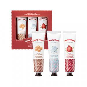 Skinfood Merry Sweet Sheabutter Perfumed Handcream Set [Holiday Edition] 30ml*3ea