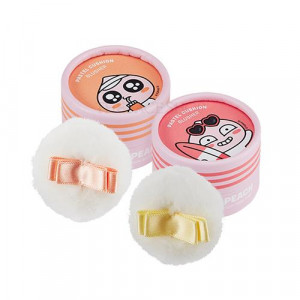 The Face Shop X Kakao Friends Club Apeach Pastel Cushion Blusher 6g