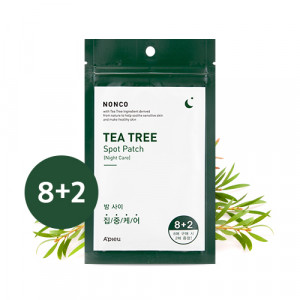 A'PIEU NonCo Tea Tree Spot Patch (Night Care) Set 10Patch*10ea