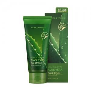 Nature Republic Real Squeeze Aloe Vera Peel Off Pack 120ml