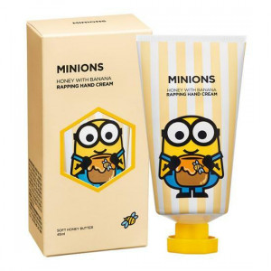 MINIONS Honey With Banana Rapping Hand Cream 45ml