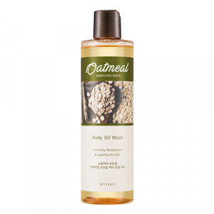 Missha Oatmeal Enriched Body Oil Wash 300ml