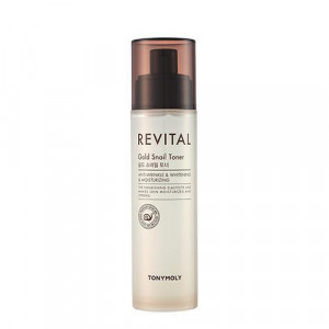 TONYMOLY Revital Gold Snail Toner 140ml