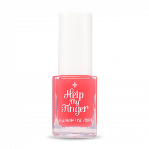 Etude House Help My Finger Pink Keratin Nail Strengthener 10ml