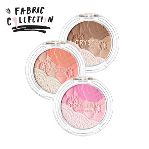 TONYMOLY Crystal Race Blusher S/S [Fabric Collection] 1.5g
