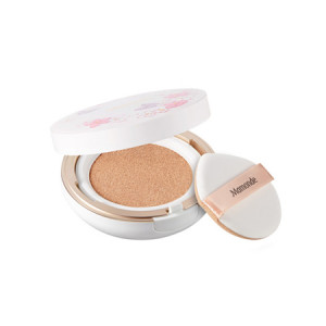 Mamonde Cherry Blossom Brightening Cover Powder Cushion 50+ PA+++ 15g