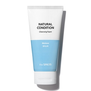 The Saem Natural Condition Cleansing Foam [Moisture] 150ml
