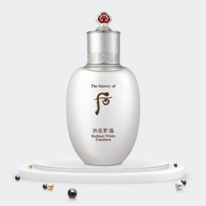 The history of Whoo Gongjinhyang:Seol Radiant White Emlsion 110 ml.