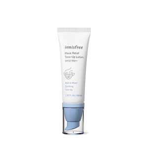 Innisfree Mask Relief Tone Up Lotion SPF27 PA++ 40ml
