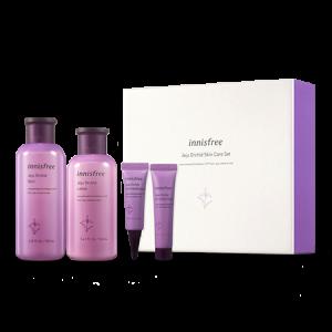 Innisfree Jeju Orchid Skincare Set 200ml+160ml+10ml+15ml