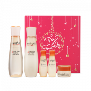 Etude House  [Tiny Twinkle]  Moistfull Collagen Skin Care Set 200ml+180ml