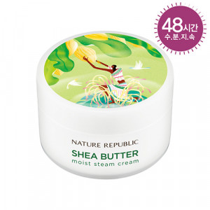 Nature Republic Shea Butter Steam Cream Moist for Dry to Normal Skin Type 100ml