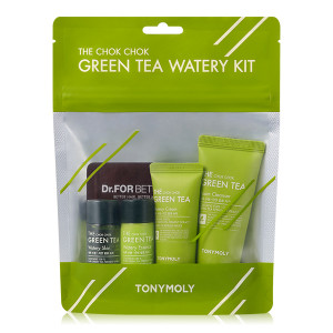 TONYMOLY The Chok Chok Green Tea Watery Kit 1ea