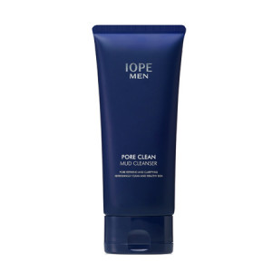 IOPE Men Pore Clean Mud Cleanser 125ml