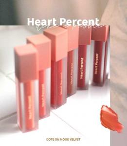 Heart Percent Dote On Mood Velvet Lip Tint 4.5ml