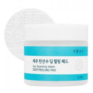 Shingmulnara Jeju Sparkling Water Deep Peeling Pad 60P (120ml)