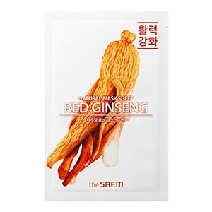 THE SAEM Natural Red Ginseng Mask Sheet 21ml