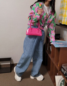 [R] Rowky Wide jeans 1pcs