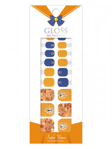 Dashing Diva [Sailor Moon] Premium Gloss Pedi Strip - Sailor Venus