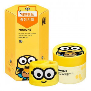 MINIONS Honey With Banana Wash Off Pack 100g