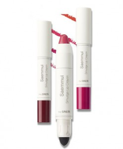 THE SAEM Saemmul Smudge Lip Crayon 2.5g