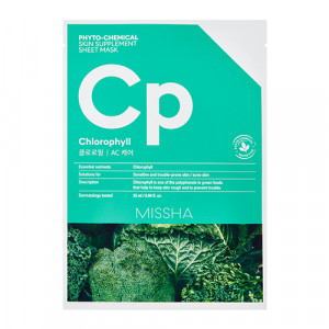 MISSHA Phyto-Chemical Skin Supplement Sheet Mask 25ml