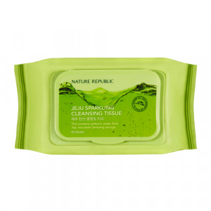 Nature Republic Jeju Sparkling Cleansing Tissue 15sheets
