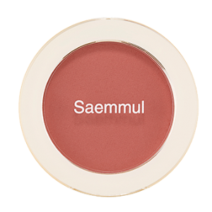 THE SAEM Saemmul Single Blusher 5g [#RD03 Trench Rose]