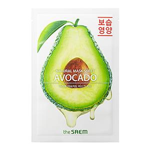 THE SAEM Natural Avocado Mask Sheet 21ml
