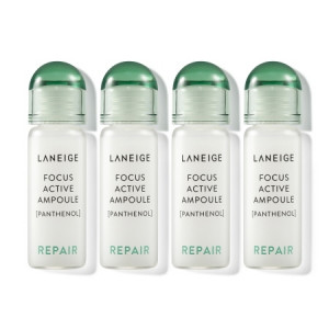 Laneige Focus Active Ampoule [Panthenol/Repair] 7ml*4ea