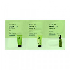 [S] Innisfree Green Tea Cleansing Kit 2ml + 2ml + 2ml